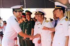 日本2艘训练舰访问越南岘港市