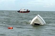 越南渔船被中国船撞沉