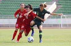 越南U16女队晋级亚洲U16女足锦标赛决赛阶段