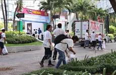 2019年清理塑料垃圾日活动在胡志明市举行