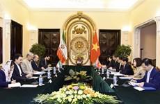 促进越南与伊朗的合作关系