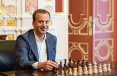 世界国际象棋联合会主席阿卡迪·达瓦科维奇访问越南