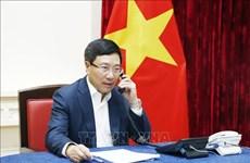 越马两国外长通电话 讨论双边关系相关问题