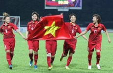 2020年东京奥运会女子足球比赛亚洲区资格赛: 越南女足队将与缅甸队进行两场热身赛