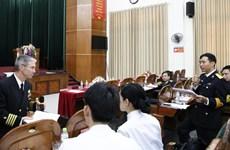 越南与日本海军加强水下医疗业务交流