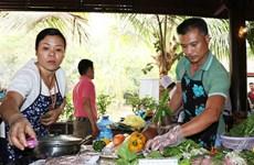 西原饮食烹饪比赛热闹开赛   西原菜肴美味呈现