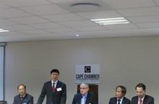 越南与南非为两国企业推进投资合作创造便利合作
