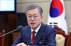 韩国总统文在寅对柬埔寨进行正式访问
