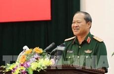 越捷两国努力促进双边防务合作关系加速发展