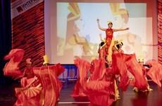 在俄罗斯人民友谊大学举行的越南文化周落下帷幕