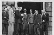 越南国会代表团1946年首次访问法国图片展即将开幕