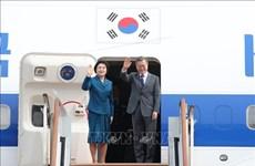 韩国总统文在寅结束东南亚三国之行