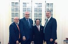 越南与美国促进民间交流