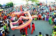 数万名游客前来参加巴地头顿省2019年姑营庙会