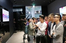 三星在胡志明市开设首个品牌体验空间