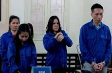越南公安破获一起航空托运毒品案 三人被判死刑