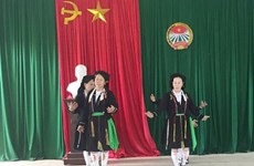 永福省山由族民歌颂姑荣获国家级非物质文化遗产证书