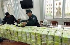 越南破获一起特大贩毒案缴获毒品300公斤