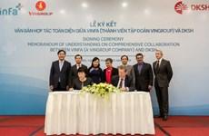 Vingroup与瑞士市场拓展服务集团签署发展战略合作协议