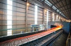 越南和发预应力钢棒新产品正式问世
