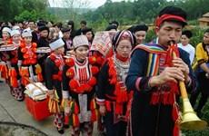 安沛省红瑶族的恭送祖先习俗