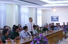 公祭英烈活动在越南西宁省和柬埔寨举行