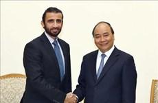 政府总理阮春福会见迪拜投资公司首席执行官