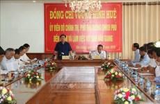 王廷惠:把后江省建设成为九龙江三角洲富裕省份