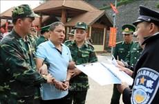 越中两国警方配合逮捕通缉犯