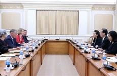 胡志明市加强与新西兰的经贸投资合作关系