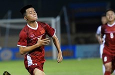 2019年越南国际U19足球赛: 越南U19足球队1-0击败中国U19足球队 晋级决赛