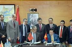 越南与摩洛哥签署多项合作文件