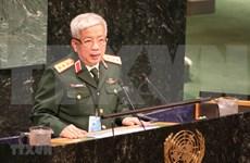 越南重申积极参加联合国维和行动的承诺