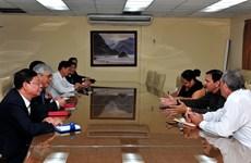 越南山萝省赴古巴寻找合作机会