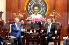 胡志明市与德国法兰克福市促进技术合作发展