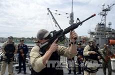 菲律宾与美国开始举行联合军事演习