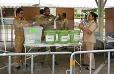 泰国选举:部分投票站进行重新投票