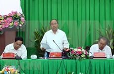 阮春福总理:破解九龙江三角洲地区交通基础设施建设的瓶颈