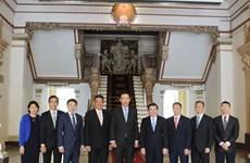 新加坡吉宝集团有意同胡志明市建立长期伙伴关系