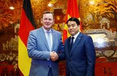 河内推动与德国图林根州的合作关系