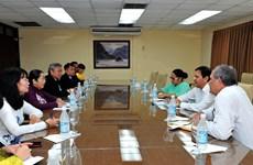胡志明市寻找与古巴各地方的合作机会