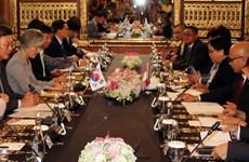 韩国与印尼就促进双边关系达成一致
