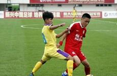 越南河内U17队1比0击败中国广州恒大U17队