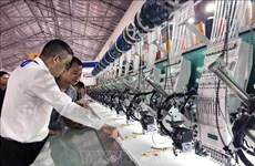 2019年国际纺织工业展在胡志明市举行