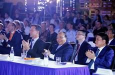 越南政府总理阮春福与荷兰首相马克·吕特出席可持续时装秀