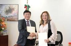 越通社与墨西哥国家通讯社同意加强合作