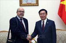 政府副总理王廷惠会见国际货币基金组织代表团