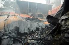 河内四家厂房发生火灾 致8人死亡和失踪