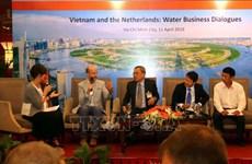 越南与荷兰加强九龙江三角洲水源管理合作