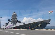 两艘印度海军军舰访问越南